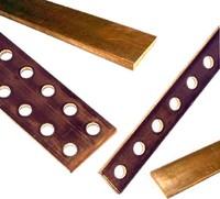 Barres de cuivre