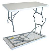 Table pliante 740 x 152 x 760