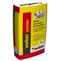 Mortier weber mortier (ex Bat express ) 25 kg