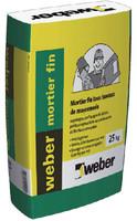 Mortier weber mortier fin (ex Bat express fin) 25 kg
