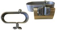 Porte cadenas spécial grille et portail