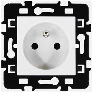 Bloc prise simple Esprit blanc 2P+T 16A EUR'OHM 61860 esprit60.jpg