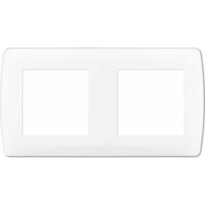 Plaque blanche 2 postes. ent 71mm EUR'OHM 61897 esprit97.jpg